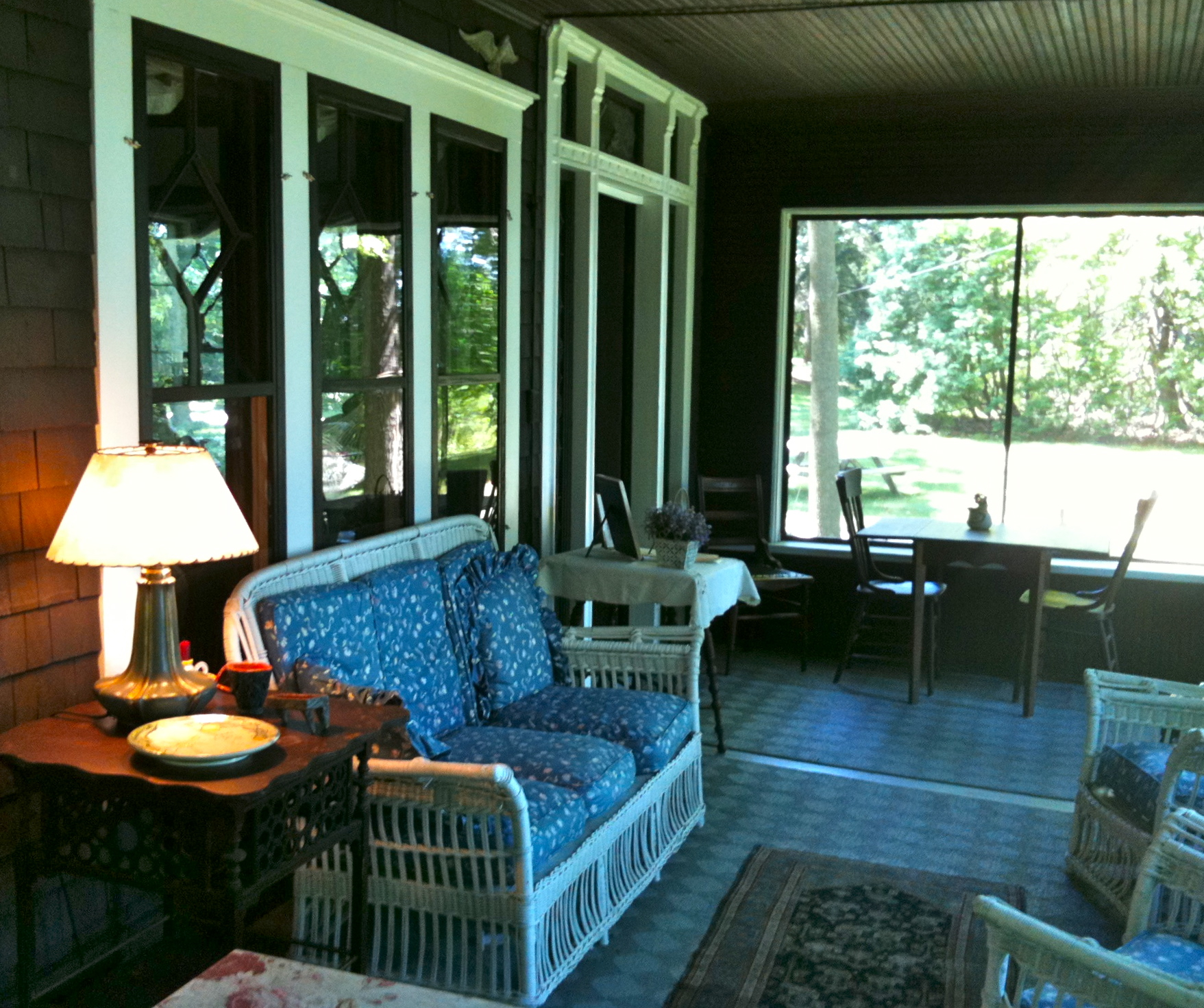 Porch Pictures For Design And Decorating Ideas: Creating Small Scale Community In A